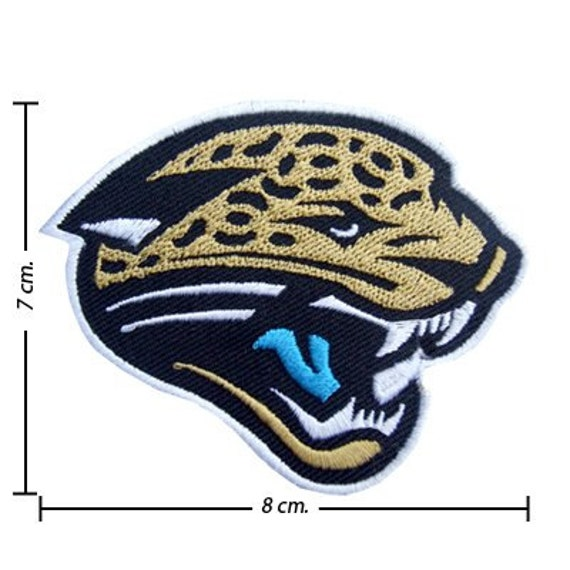 Jacksonville Jaguars NFL Team Embroidered Iron on by noieasyshop