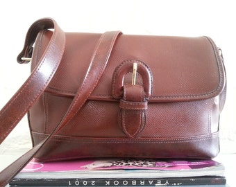Vintage Liz Claiborne Shoulder Bag - Brown