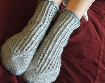 Mistral sock pattern by Anita Grahn, instant download