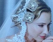 Bridal  Hair Pins, Pearl Hair Pins, Vintage Crystal Hair Pins, Pearl Wedding Hair Accessories,  Rhinestone Hair Pins - STRIKING STYLE