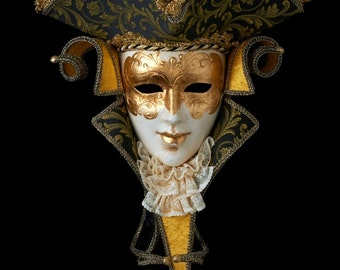Venetian Mask | Casanova with Lace