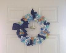 Baby Ribbon Keepsake Wreath