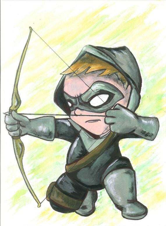 ORIGINAL Arrow painting