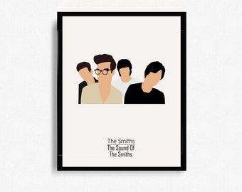 The Smiths Album Cover - Music Inspired Art