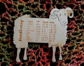 Doodlestop WPI guage sheep
