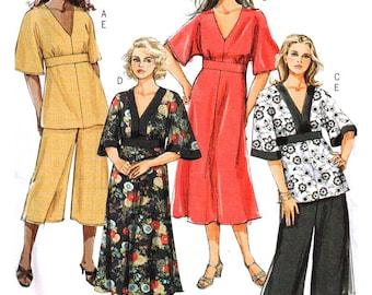 Butterick Sewing Pattern B5002 Womens top, dress, pants  Size 18W-24W  Uncut