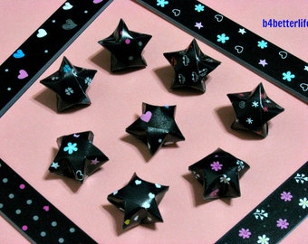 250 strips of DIY Origami Lucky Stars Paper Folding Kit. 26cm x 1.2cm. #A079. (XT Paper Series).