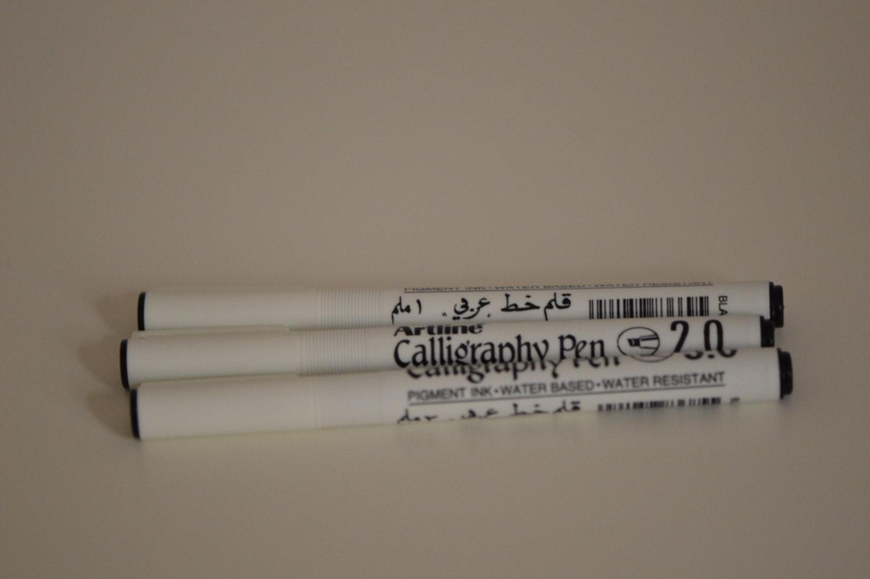 Arabic Calligraphy Pen Set Of 3