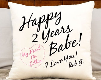 2 Year Wedding Anniversary Ideas Cotton : year anniversary dating gift ideas