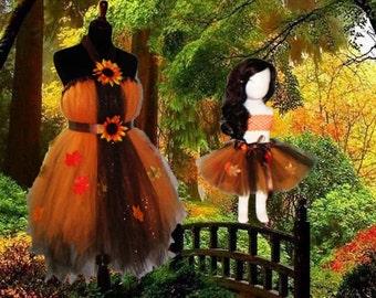 Halloween/Harvest Tutu Skirt