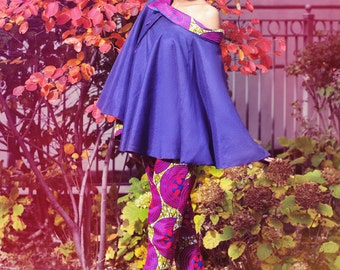 Off shoulder Susie Cape and pants