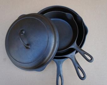 Items Similar To Vintage Lodge Long Handled Cast Iron