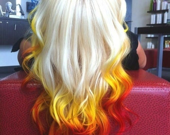 Fire Ombre Extensions