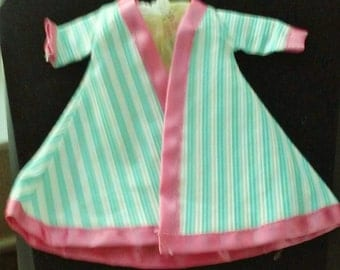 Vintage 1950's Vogue Ginny Doll Night Gown and Robe