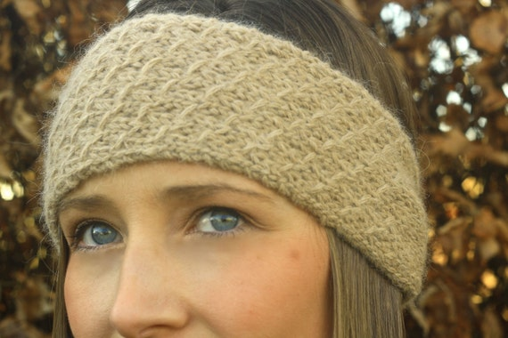 KNITTING PATTERN SET - Honeycomb Headband and Cowl (Knitted Scarf, Infinity S...