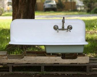 1930s Kohler Cast Iron Farmhouse Sink 42 X 20 8 Inch By