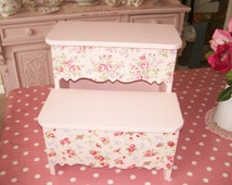 Popular items for shabby chic stool on etsy for Cath kidston kitchen ideas