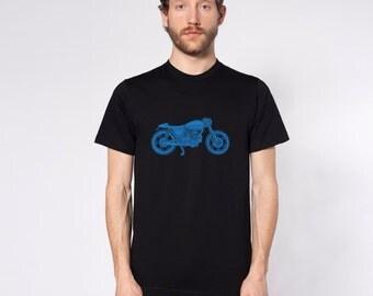 KillerBeeMoto: Limited Release Italian Engineered Vintage Cafe Racer Custom Short And Long Sleeve Motorcycle Shirts