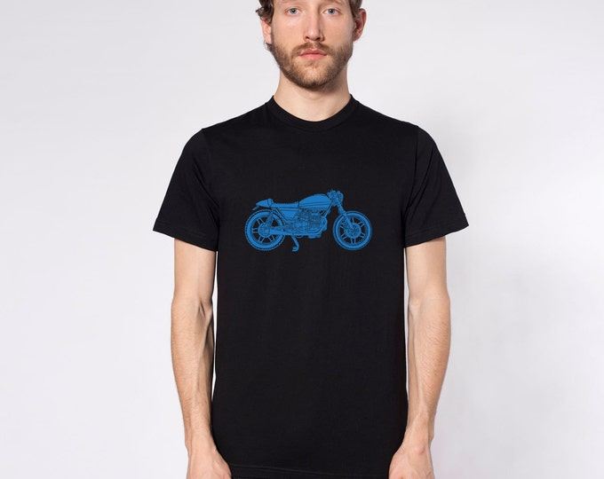 KillerBeeMoto: Limited Release Italian Engineered Vintage Cafe Racer Custom Short And Long Sleeve Motorcycle Shirts