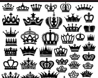 Princess crown silhouette clip art - photo#50