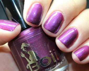 purple nail polish, nail polish, crazy X