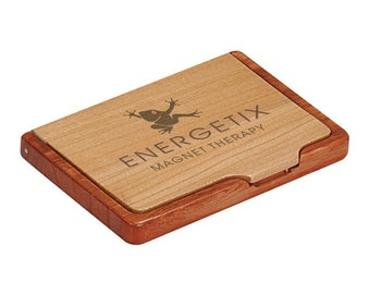 Engraved Business Card Holder - Custom Engraved Card Holder - Personalized Card Holder - Business Gift