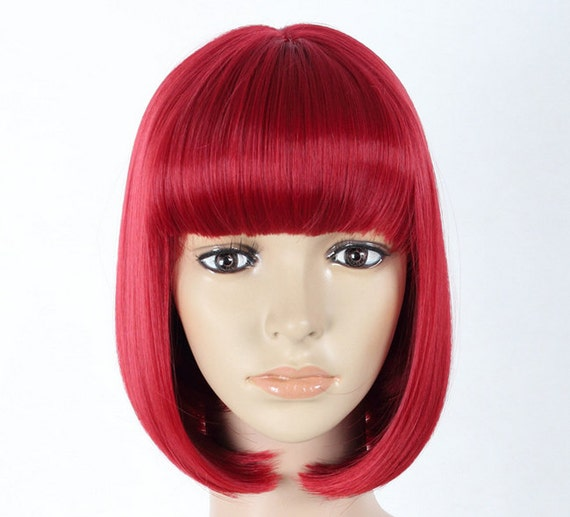 Deep Red Wig 5