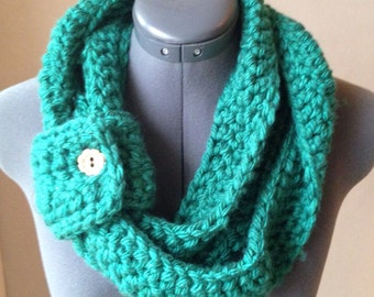 Triple Loop Infinity Scarf