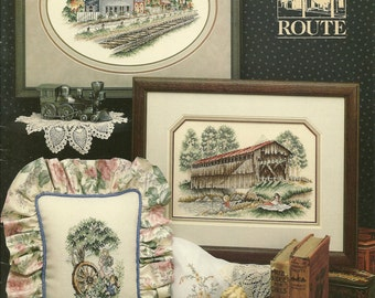 Stoeny Creek:  The Scenic Route Cross Stitch Booklet