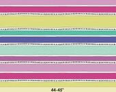 Geometric Bliss by Jeni Baker for Art Gallery Fabrics -Mobius Stripe Cool GBL-1439 - Yardage (1/2 Yard Minimum)