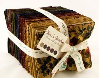 Clara's Garden, Kansas Troubles, Fat Quarter Bundle, Moda fabrics, Earth Tone, Fall Fabric, Country Fabrics,