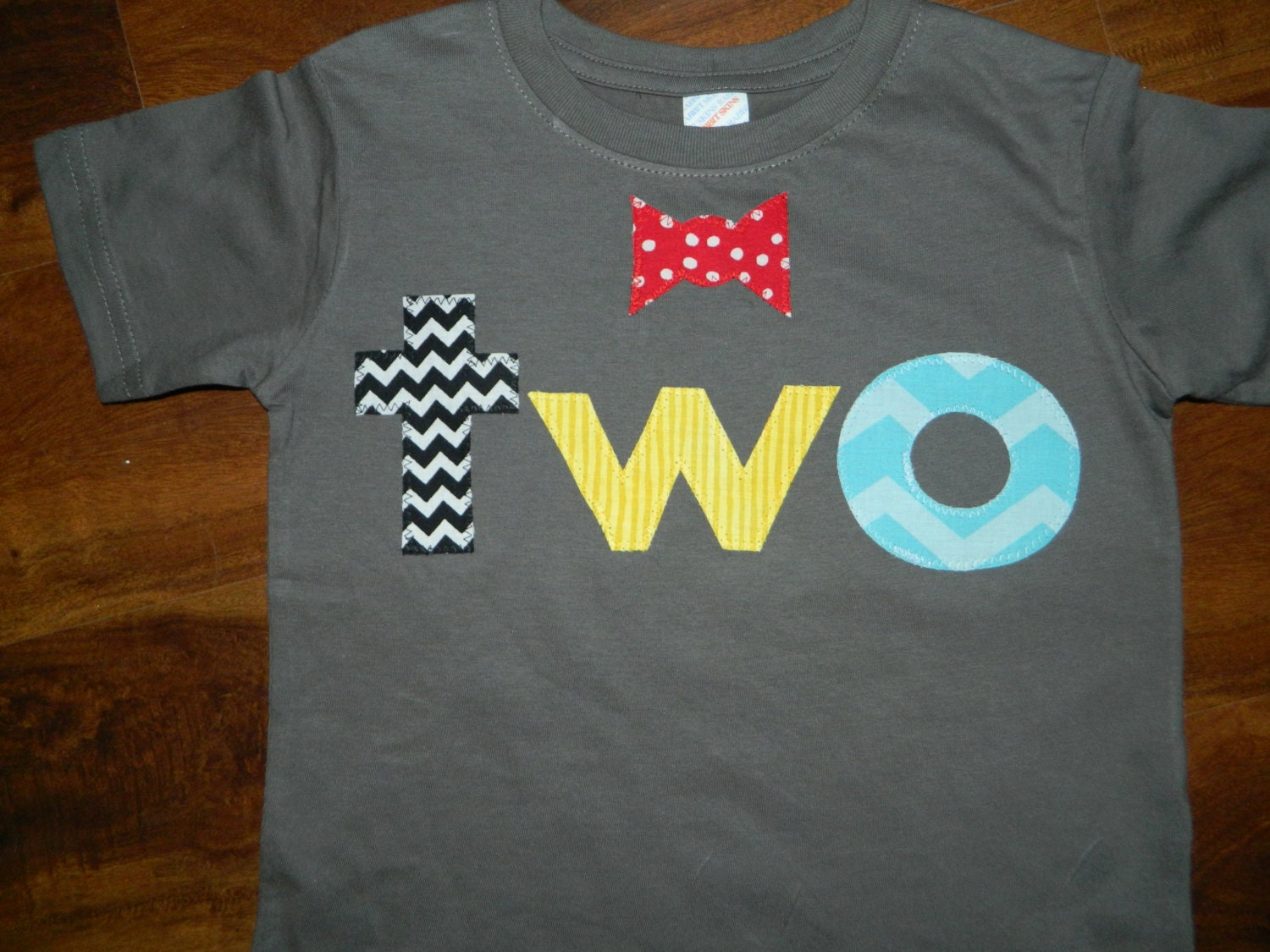 2 Year Old Birthday Shirt Toddler Boy With Bow