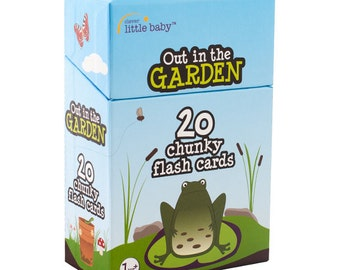 Out in the Garden Flash Cards