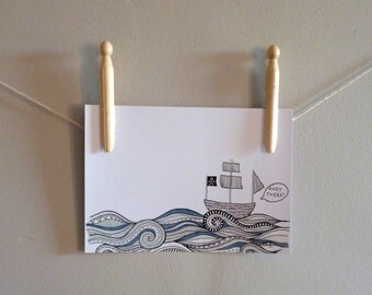 Ahoy There! Print