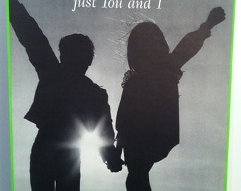 Above The World Just You And I Vintage 70s poster