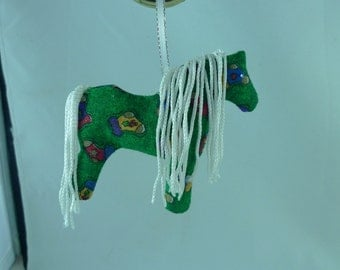 Hand Crafted Horse Decoration