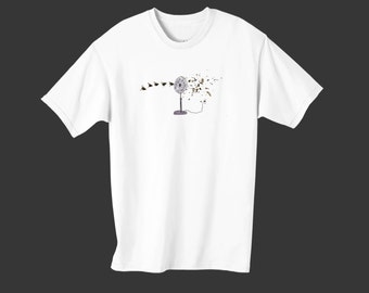 "Fly Town Comic's Tee Shirt - ""The Fan"""