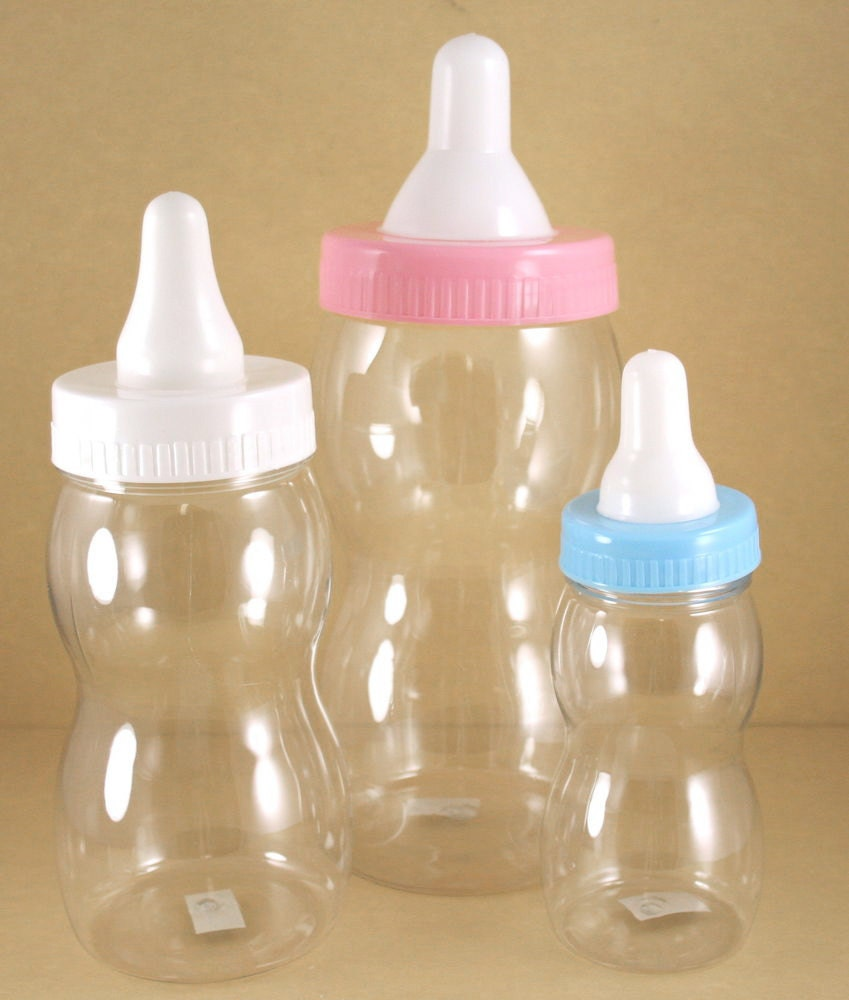 jumbo milk bottle coin bank baby shower souvenir by partyspin