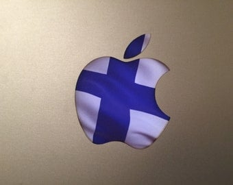 Finland / Finnish Flag MacBook Decal