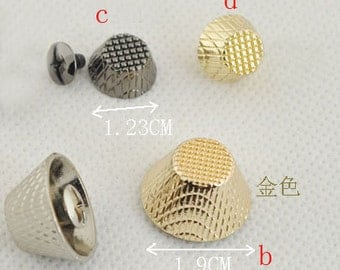 Riveted Studs screws style,bag screw shackles.16 Pcs