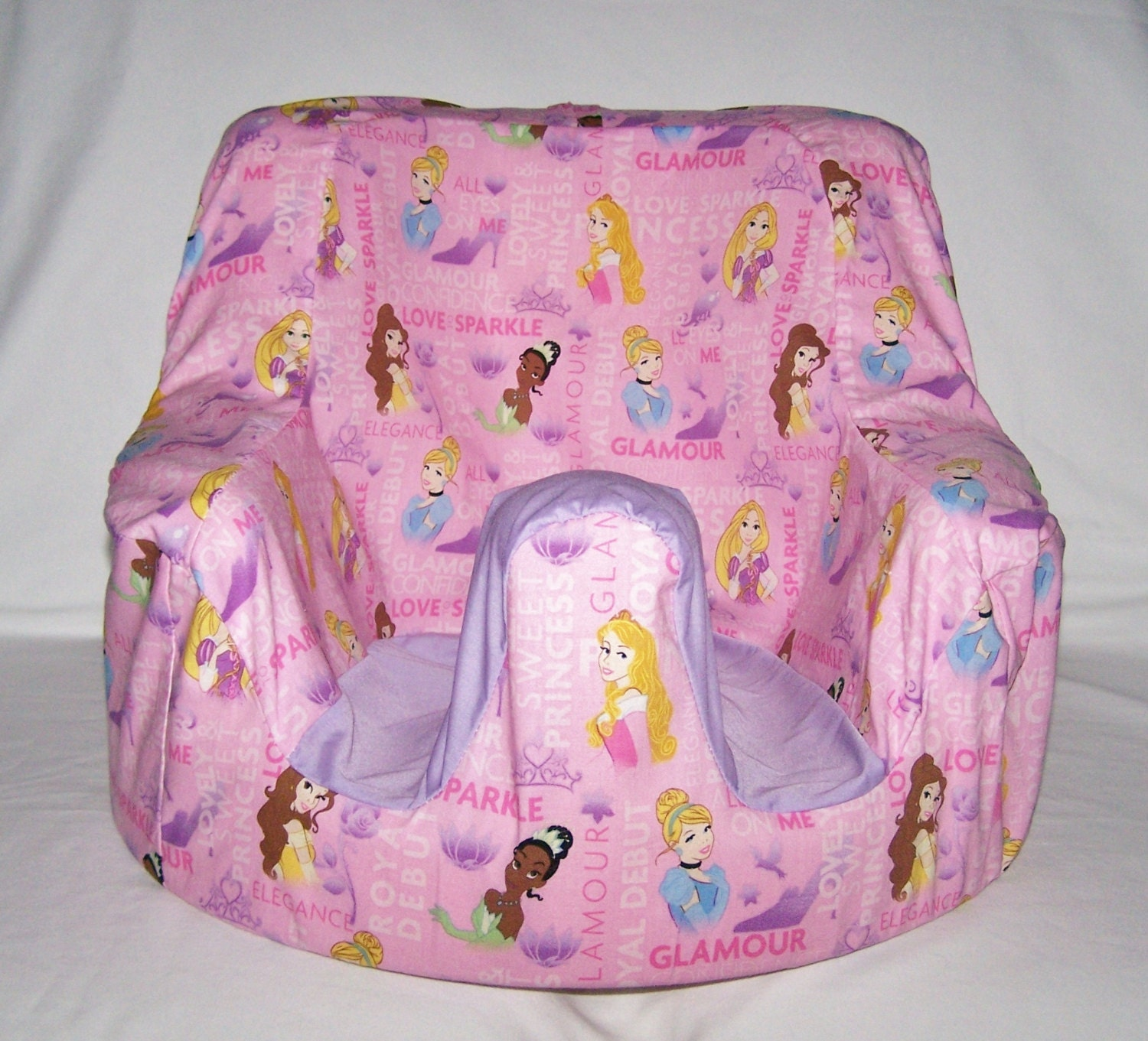 Childrite Seat COVER With Disney Princess Print By