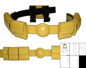 Template for Young Justice Robin Utility Belt