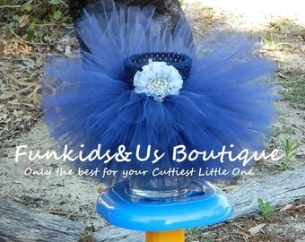 Navy blue Tutu Birthday Tutu skirt- Tutu Baby Tutu Photo Prop, toddler , girl wedding tutu