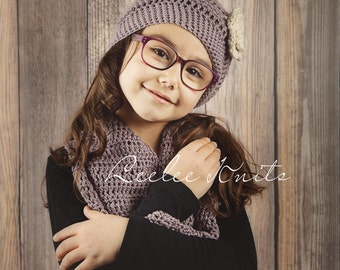 Pattern - Crochet Hat and Scarf Set