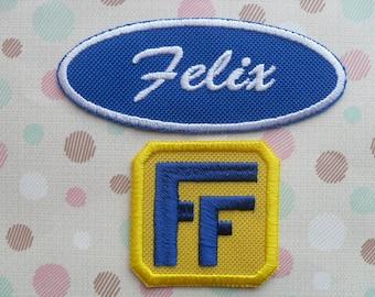 Fix-It Felix Jr Patch Set - Wreck-It Ralph /  Iron On Patch