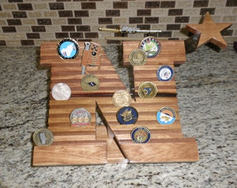 Challenge Coin Display Naval Academy N