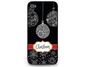 Christmas Chalkboard Phone Case - Christmas iPhone 6 Phone Case - Chalkboard Christmas iPhone 5c iPhone 4s iPhone 5s Chalkboard Phone Case