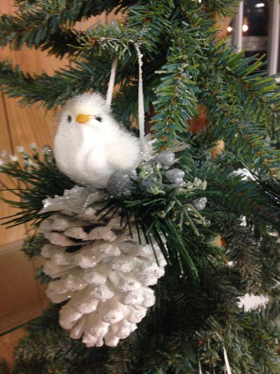 Christmas Ornament Pinecone Ornament Pine Cone Ornament