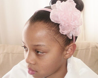 Fancy Flower Headband, Girls Headbands, Girls Hair Accessories, Flower Girl Accessories, Wedding Accessories, J'NING Accessories