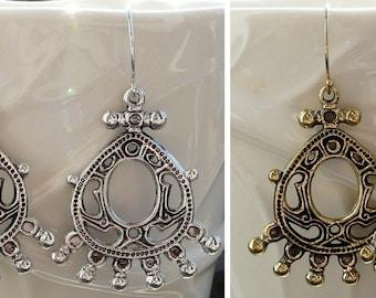 Moscow kingdom earrings (Medieval Russia, Moscow kingdom, the XVI-XVII centuries).